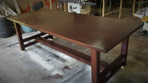 Custom Made Walnut Dining Extension Table