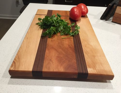 Custom Made Custom Wood Cutting Board - Serving Board - Cheese Board - Father's Day Gift