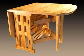 Custom Made Gateleg Table