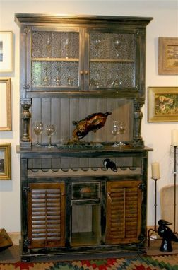 Custom Made Lynn's Wine Cabinet