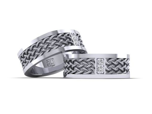 Custom Made Wedding Band Celtic Knot
