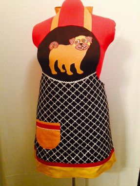 Custom Made Pug Apron