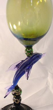 Custom Made Dolphin Goblet