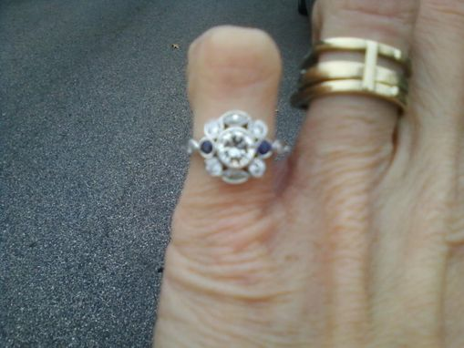 Custom Made Restyle And Old Ring Into Something New!