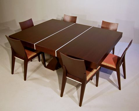 Custom Made Brace Dining Table