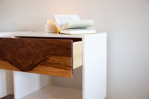 Custom Made Single Drawer Nightstand