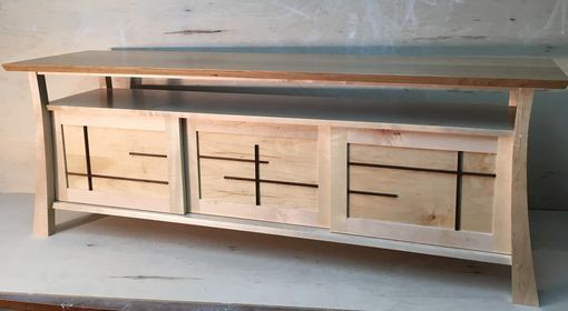 Custom Made Japanese Inspired Credenza