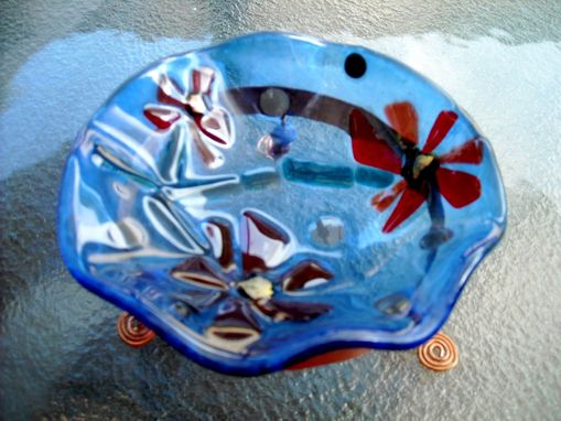 Custom Made Jewelry Catchers - Fused Glass Bowls