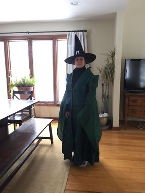 Custom Made Mcgonagall Dress Robes - Authentic Movie Replica