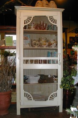 Custom Made Lisa's Screen Door Hutch