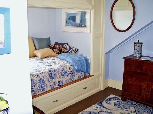 Custom Made Built In Bed In Historic Home