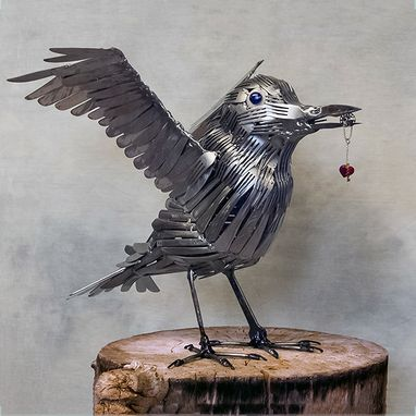 Custom Made Custom Raven/Crow Bird Series