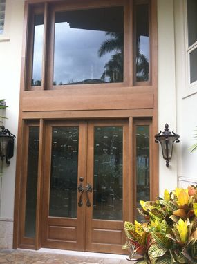 Custom Made Entry Doors