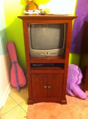 Custom Made Child Safe Tv Cabinet.