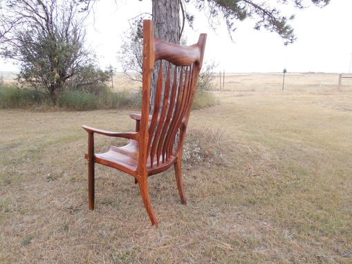 Custom Made Maloof Style Easy Chairs