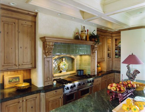 Custom Made Old World English Kitchen Remodel