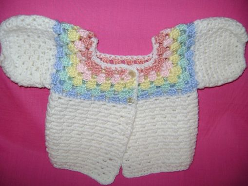 Custom Made Crocheted Baby Afghan Set