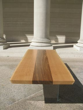 Custom Made Floating L Coffee Table