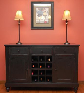 Custom Made Wine Buffet