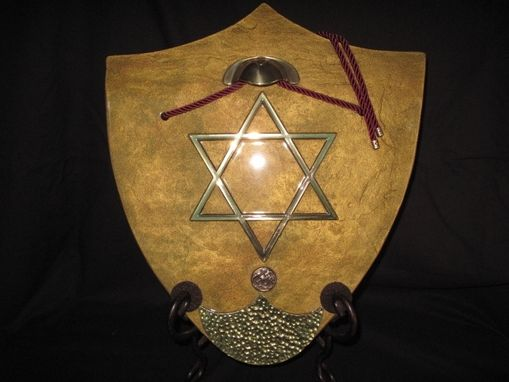 Custom Made Magen (Shield) Of David.