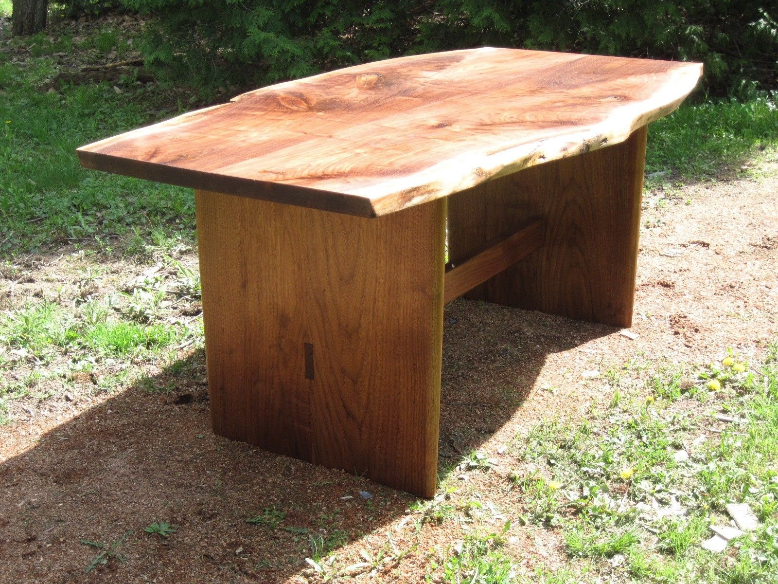 Terrific Hand Crafted 6Ft Black Walnut Dining Table By Sterling Gmtry Best Dining Table And Chair Ideas Images Gmtryco
