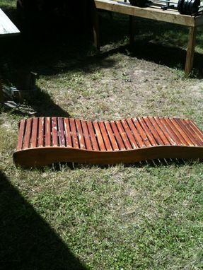 Custom Made Cedar/Cypress Sunlounger
