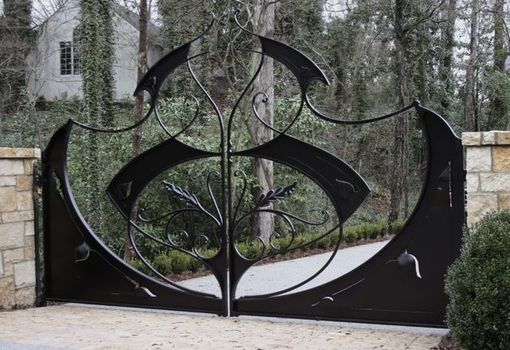 Custom Made Sculptural Gate