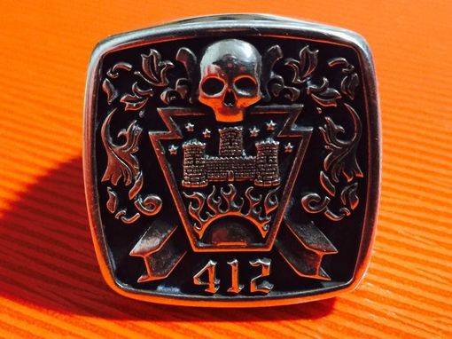 Custom Made Custom Family Crest Signet Rings