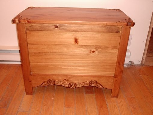 Custom Made Coffee Table / Storage Chest