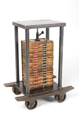 Custom Made Law Books Table