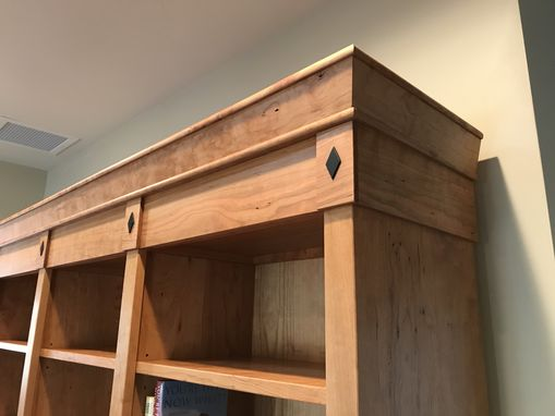 Custom Made Classic Column Bookcase
