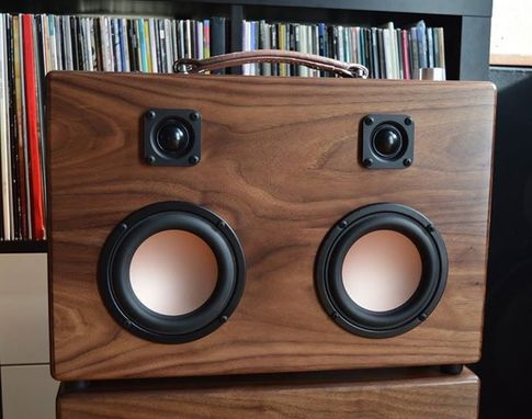 Custom Made The Modern Boombox By The Hifi Case