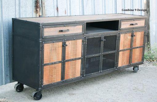 Barn Wood Storage Cabinet