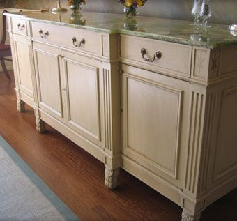 Custom Dining Room Buffet Cabinet By