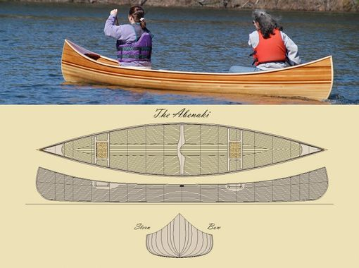 Custom Made 'Abenaki' Canoe Kit
