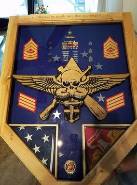 Custom Made Retirement Shadow Box