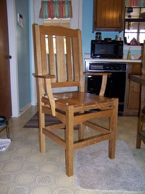 Custom Made White Oak Side Chair