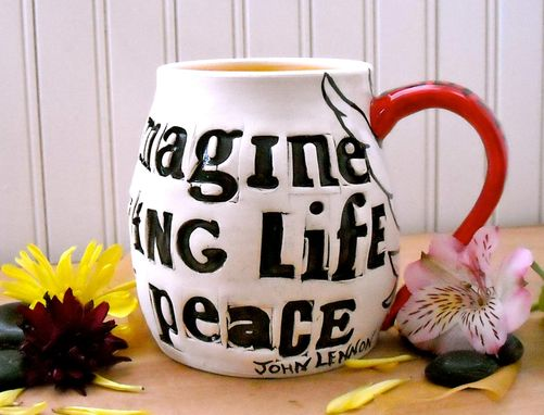 Custom Made Peace Doves Mug