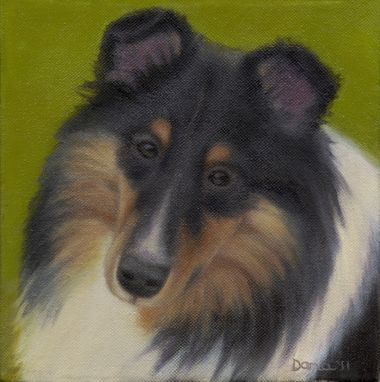 Custom Made Custom 10 X 10 Inch Pet Portrait In Oil - Deposit - 10% Benefits Animal Charities