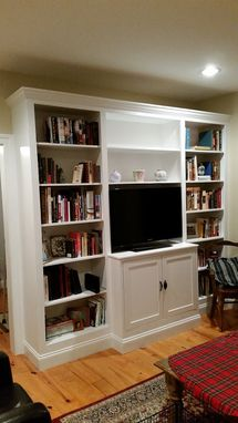 Custom Made Built-In Wall Unit
