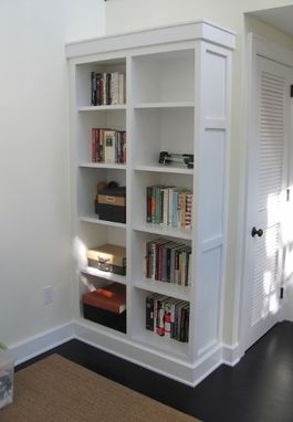 Custom Made Custom Bookcases