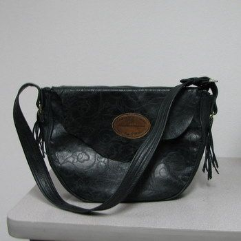 Custom Made Embossed Saddle Bag