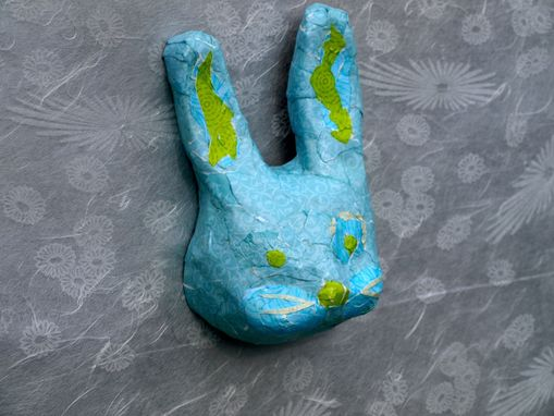 Custom Made Children's Room Decorative Bunny Mask