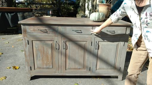 Custom Made Handcrafted Cabinets , Sideboards And Hutches