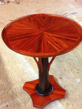 Custom Made Sunburst Parlor Table