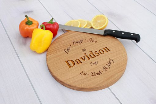 Custom Made Personalized Cutting Board, Engraved Cutting Board, Custom Wedding Gift – Cbr-Wo-Davidson
