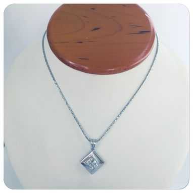 Custom Made Sossi 18k Women Contemporary Diamond Necklaces And Pendants