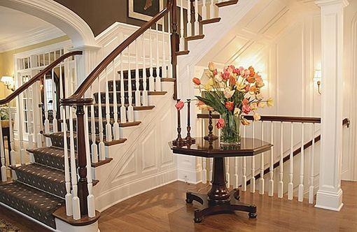 Custom Made Entry Remodeling And Custom Wainscoting