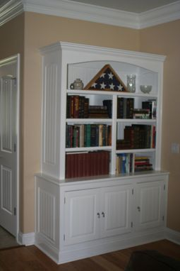 Custom Made Custom Bookshelf/Storage Unit In Navarre, Fl