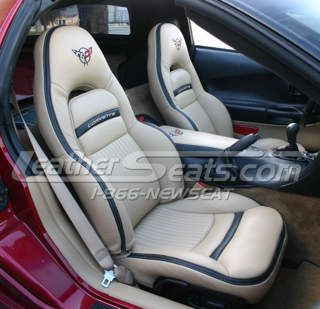 handmade custom chevrolet c5 corvette italian leather interior by leather seats. Black Bedroom Furniture Sets. Home Design Ideas